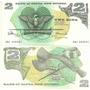Billete Papua Nueva Guinea 2 Kina Año 1975 Oferta!!!