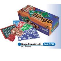 Bingo Bisonte Lujo 96 Cartones
