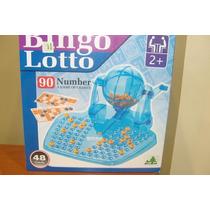 Bingo - Loteria - Bolillero - 90 Bolillas - 46 Cartones