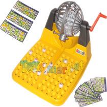 Bingo Automatico Con Bolillero, Fichas Y Tableros Rondi