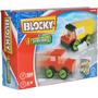 Set Bloques Blocky Vehiculos Dimare Con Manual De Ideas