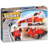 Blocky Competición 1 Arma Autos De Carreras Tipo Rasti Lego