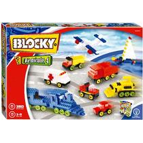Blocky Vehiculos 4 380 Piezas Kidplay