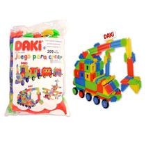 Daki Con 224 Piezas Incluye Ruedas