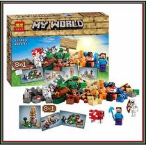 Minecraft 21116 Crafting Box 526 Piezas Mesa De Trabajo