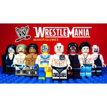 Colecciòn Completa Luchadores W X 8 Tipo Lego Impresionantes