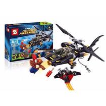 Batman Helicoptero Para Armar - Sy 313