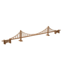 Para Armar Madera Maqueta Sticksart Puente Golden Didáctico