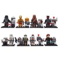 Coleccion Completa Star Wars Serie 2 Tipo Lego X 8