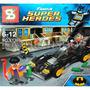 Batimovil Batman Tipo Simil Lego + 2 Muñecos