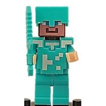Minecraft Muñequito Para Armar Compatible Super Steve