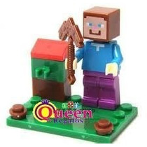 Minecraft Lego Compatible Steve