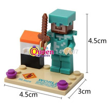 Minecraft Lego Compatible Super Steve
