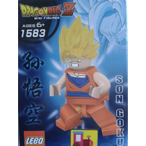 Son Goku Dragon Ball Z Minifigura Lebq Calaz Toys
