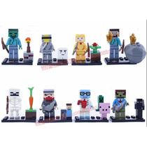 Minecraft - Set X8 - Bloques Sy - Simil - Legofans