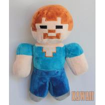 Minecraft Steve E Zombie En Peluches Mide 30 Cm!!!