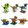 Llego Coleccion Jurassic World Dinosaurios X 6 Minibloques