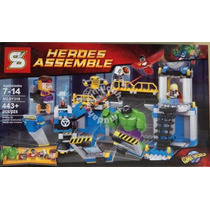 Bloques Compatible C/ Lego - Laboratorio Hulk - Lab Smash
