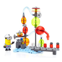 Mega Bloks Despicable Me Minions Made Laboratorio Gelatina