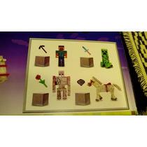 Minecraft, Jinete, Steve, Creeper, Golem De Hierro