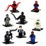 Minifiguras - Spiderman - Hombre Araña X8 - Simil - Sy
