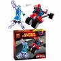 Spiderman Triciclo Electro ,hombre Araña ,2 Figuras 1 Moto