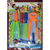 Set De Herramientas Plasticas De Juguete