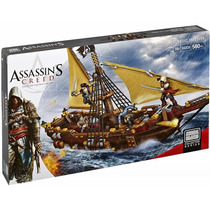 Mega Bloks Assassins Creed Barco Pirata 94308 580 Piezas
