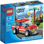 Lego City 60001 Coche Jefe De Bomberos - Mundo Manias