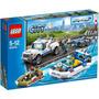 Lego City Police Patrol Policía Lancha Camioneta 60045
