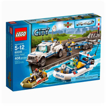 Lego City 60045 - Patrulla De Policia - Mundo Manias