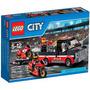 Lego City Racing Bike Transporter Moto De Carrera Original