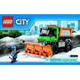 Lego City 60083 Snowplow Truck Camión Barrenieve