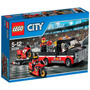 Lego City 60084 Set De Transporte Moto De Carreras Original