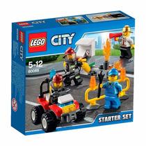 Lego City 60088 Bomberos Set De Inicio Original