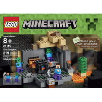 Lego 21119 Minecraft The Dungeon Jugueteria Bunny Toys