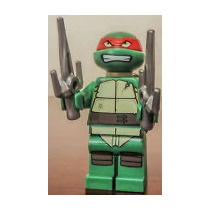 Lego Tmnt - Tortugas Ninja Raphael - Nuevo!