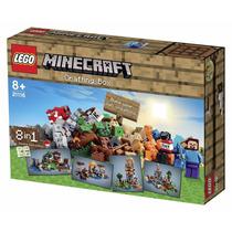 Lego Minecraft 21116 Mesa De Trabajo 518p (8 En 1) - Din Don