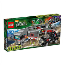 Lego Tortugas Ninja # 79116 Fuga En El Camión