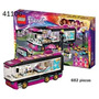 Lego Juguete Niños Friends Pop Star Tour Bus 41106