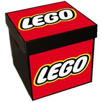 Cajas Para Juguetes Corrugado Plástico 33x33x34cm Legos
