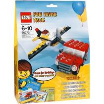 Lego 66373 Fun Favor Pack 4 Aviones 4 Camionetas Nuevo!!
