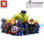 Mini Figuras Coleccion Avengers 2 Heroes Asamble Star Wars