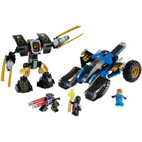 Lego Ninjago 70723 Thunder Raider 2014 Nuevo! Jay Y Cole