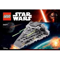 Lego Star Wars First Order Star Destroyer 56 Pzs. Nuevo!