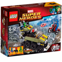 Lego Super Heroes Capitan America 76017 Nuevo Original Hydra