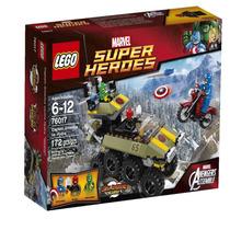 Lego 76017 Super Heroes Capitan America Vs Hidra Original