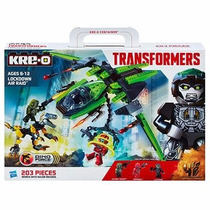 Kreo Transformer Lockdown Air Raid Lego
