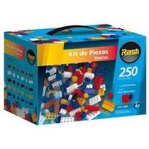 Rasti Kit De Piezas Basicas X 250 Ladrillos Niños Y Adultos