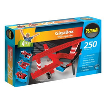 Rasti Gigabox Transporte 250 Piezas 4 Modelos P/armar